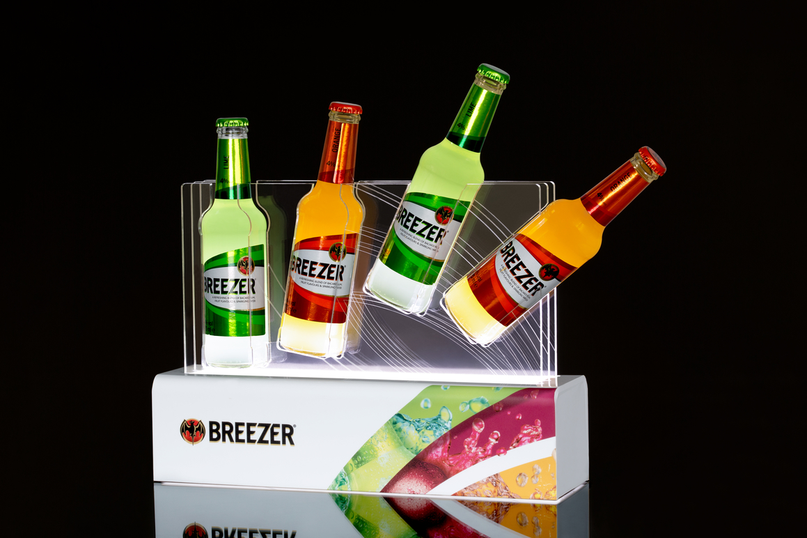 Breezer Produktdisplay