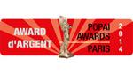Popai Award d'argent 2014
