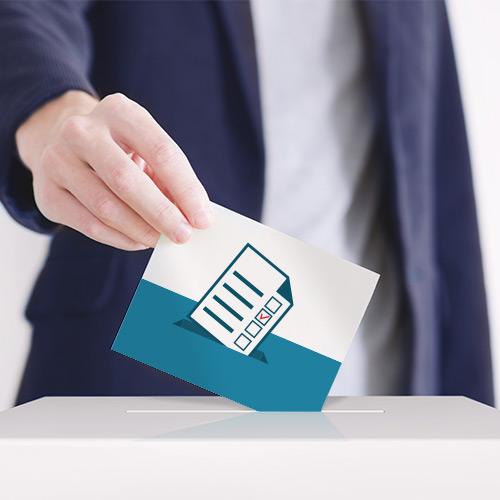 Wahlen und Versammlungen