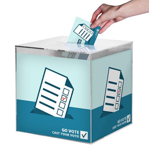 Škatle za nagradne igre / volilne škatle