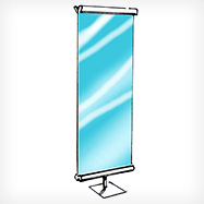 Roll Banners & Roll-Up Banners