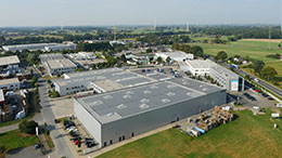 Hauptsitz der VKF Renzel GmbH aus der Luft