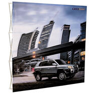 "Pop-up display ""VKF Easytex"" │ gerade"