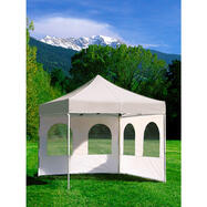 Ściana boczna z 2 oknami do namiotu promocyjnego