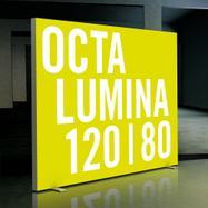 """Wolnostojąca podświetlana ścianka LEDowa """"Octalumina 120"""""""