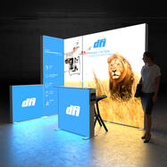 Pixlip GO  LED Exhibition Stand
