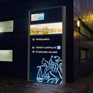 "Display pentru exterior ""Madrid LED"""