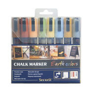 Chalk Marker Set Earth Colours