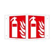 Feuerlöscher Winkelschild