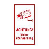 Achtung! Videoüberwachung