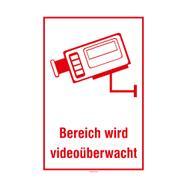 Bereich wird videoüberwacht