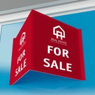Insegna annunci immobiliari in PP