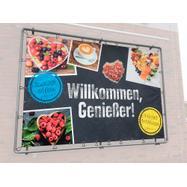 """Bannerrahmen-Stecksystem Stahl """"Wall"""" feuerverzinkt"""