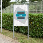 "Bannerrahmen-Stecksystem Stahl ""Pole"""
