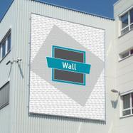 "Bannerrahmen-Stecksystem Aluminium ""Wall"""