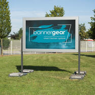 """bannergear™ Stand """"Mobil LED"""", 2-seitig"""
