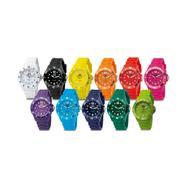 Lolli Clock, bunte Armbanduhr in verschiedenen Versionen