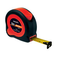 Steel Tape Measure, black / red; 3, 5 or 8 meters length