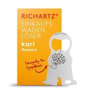 """RICHARTZ Einkaufswagenlöser """"Karl Flower"""""""