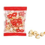 Popcorn in sacchettini con pubblicità