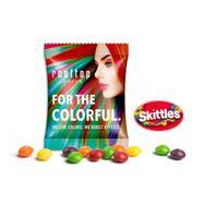 Skittles i reklameposer