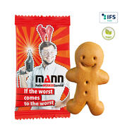 Small Gingerbread Man, individually packed