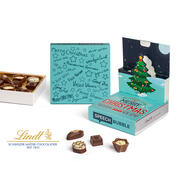 Lindt Mini Pralines in Christmas Pop Up