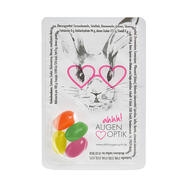 Sweet Card Jelly Beans