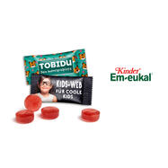 Kids Em-eukal in an Advertising Pack