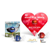 Lindt Lindor in scatola a forma di cuore