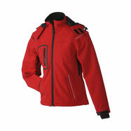 Dames softshell winterjack
