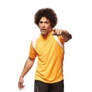 Men Running T-Shirt, 2-farbiges Sport-T-Shirt für Herren