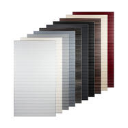 Slatwall FlexiSlot® Tile with Aluminium Frame
