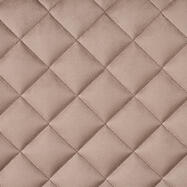 FlexiDeco-Stylepad / upholstered Fabric, diamond pattern sewn