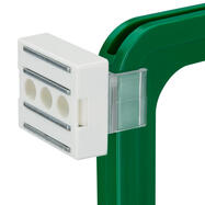 Magnethalter quadratisch mit Adapter