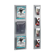 Wallmounted Leaflet Holder