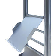 Steel Leaflet Shelf for Leaflet Column