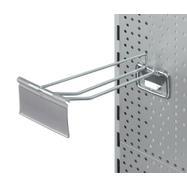 Lochwand-Doppelhaken mit Schwenkplatte und Pendeltasche