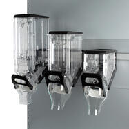 Transparent Bulk Food Dispenser with hanger
