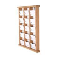 Visitenkartenhänger aus Holz