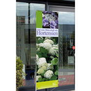 Banner cu print digital penru display Y-Outdoor