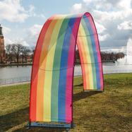 Bannerbow Outdoor - der Werbebogen für Events