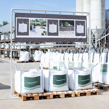 """Bannerrahmen-Stecksystem Stahl """"Big-Bag"""""""