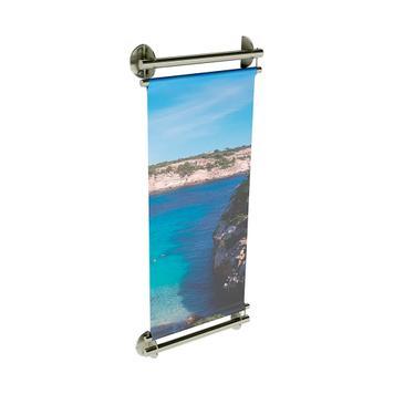 "Edelstahl - Bannerhalter INOX ""Wall"""