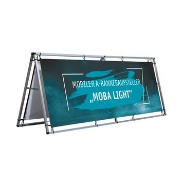 """Mobiler A-Banneraufsteller """"Moba Light"""""""