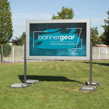 """bannergear® Stand """"Mobil LED"""", 2-seitig"""