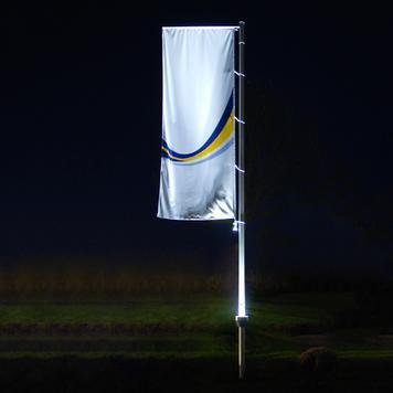 Fahnenmast-Beleuchtung