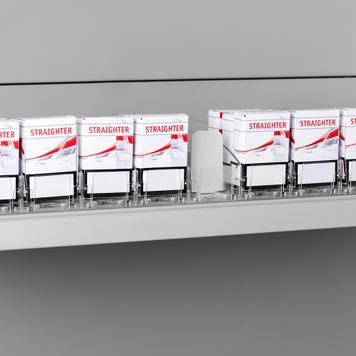 """Warenschieber """"Push VI"""", breit, für Tabakwaren"""