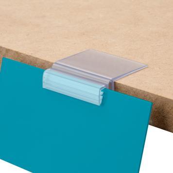 Supergreifer mit Klappfunktion für Regalböden bis 19 mm Stärke