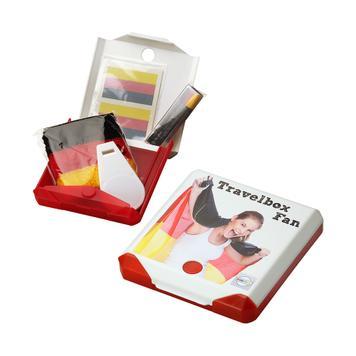 "Travelbox ""Fan"", Box mit Kickverschluss"